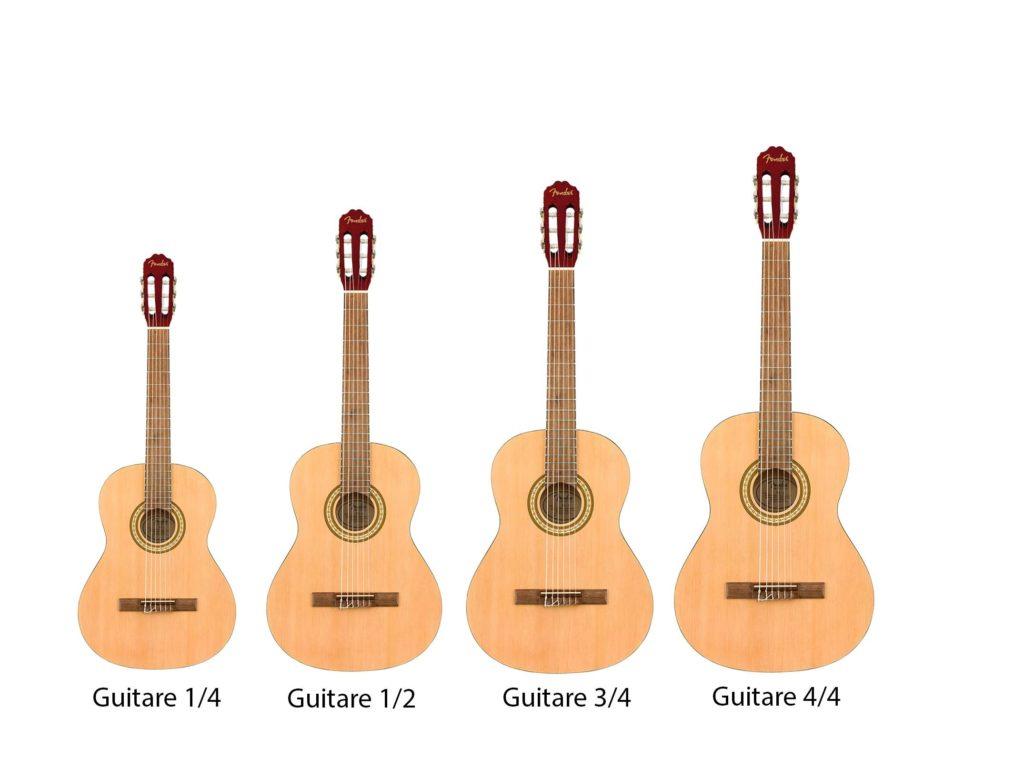 taille guitare enfant